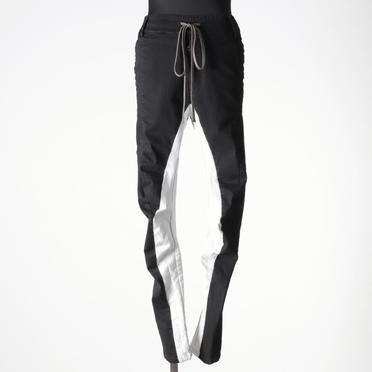 Anatomical Fitted Long Pants BK×WH No.1
