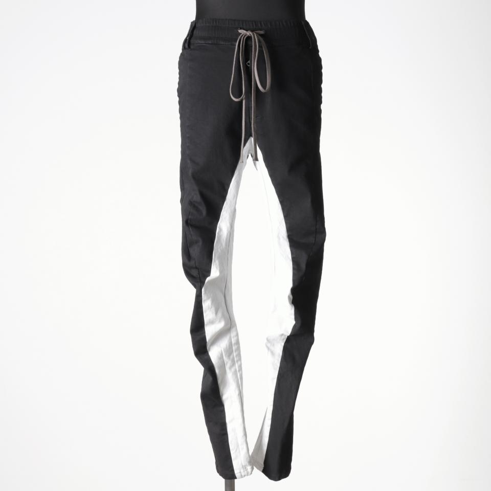 Anatomical Fitted Long Pants BK×WH
