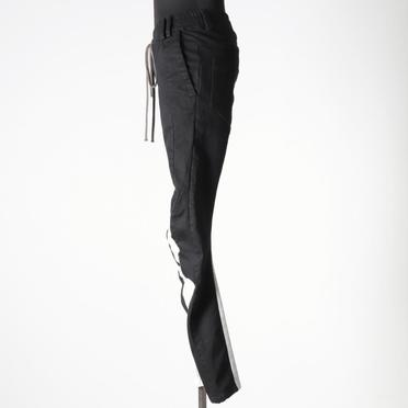 Anatomical Fitted Long Pants BK×WH No.3