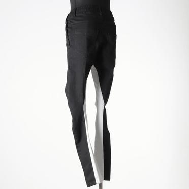 Anatomical Fitted Long Pants BK×WH No.4