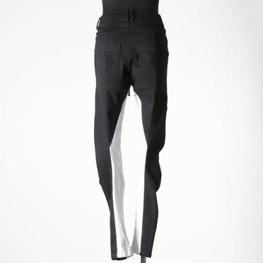 Anatomical Fitted Long Pants BK×WH No.5