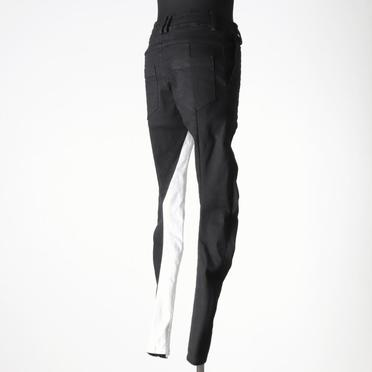 Anatomical Fitted Long Pants BK×WH No.6