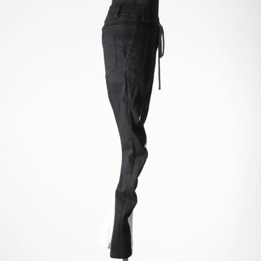 Anatomical Fitted Long Pants BK×WH No.7