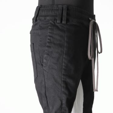 Anatomical Fitted Long Pants BK×WH No.9