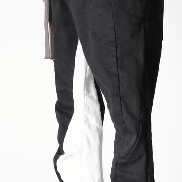 Anatomical Fitted Long Pants BK×WH No.11