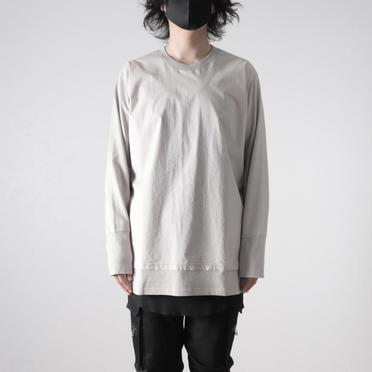 LAYERED L/S EIGER GRAY No.6