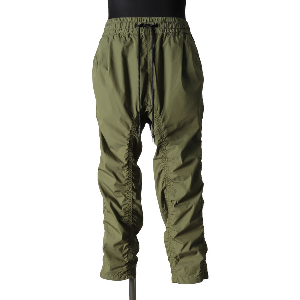 CROPPED EASY PANTS OLIVE
