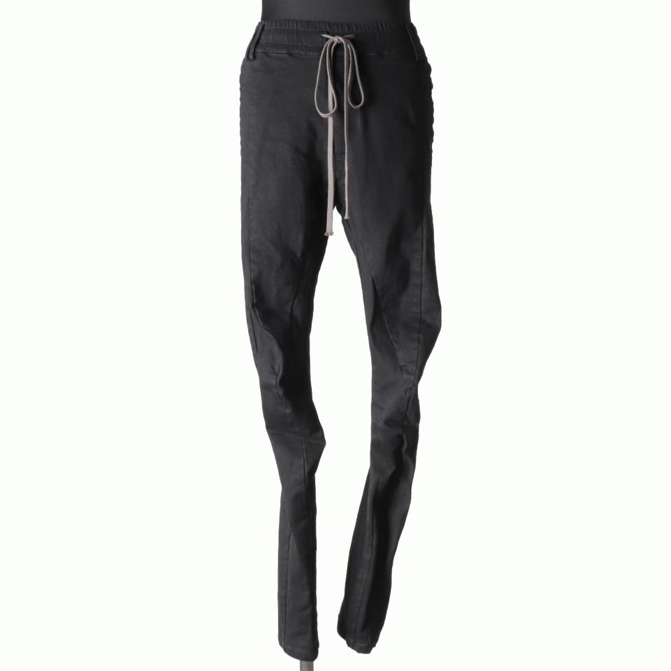 Anatomical Fitted Long Pants BLACK