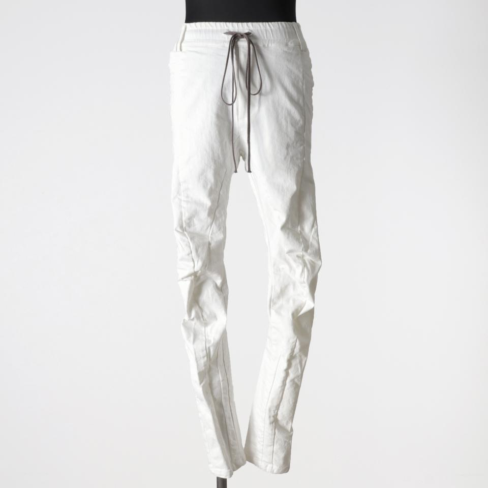Anatomical Fitted Long Pants WHITE