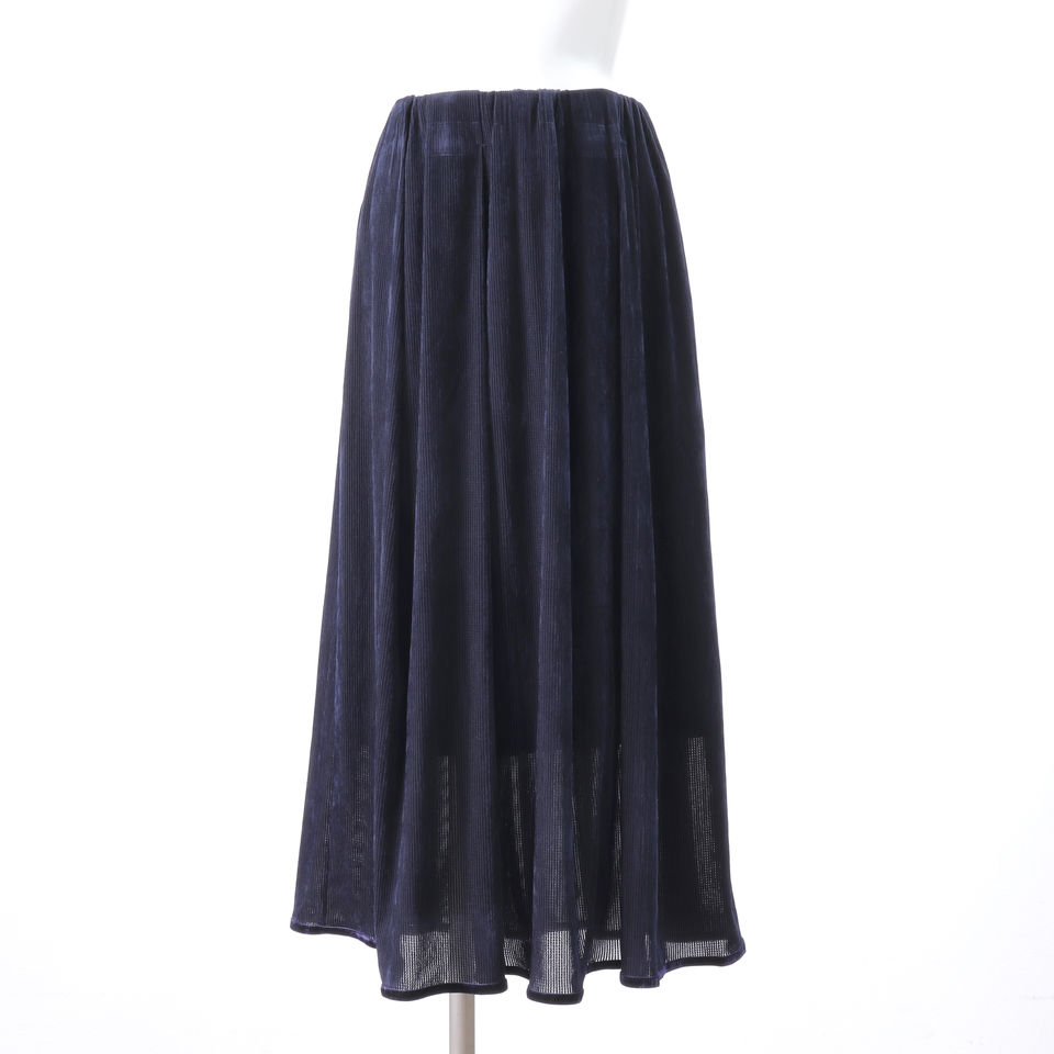 tulle lace flocked SK NAVY