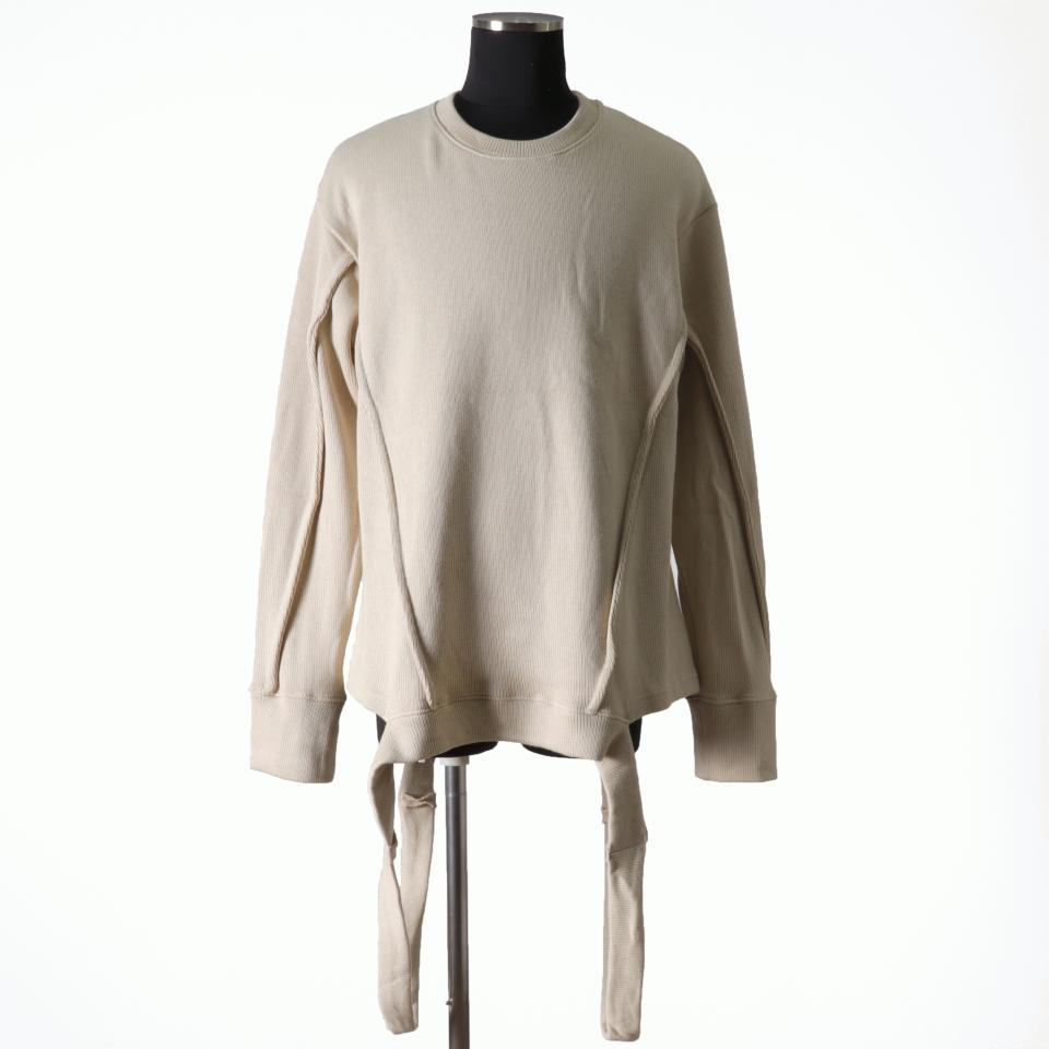 Crew Neck Knit Pullover IVORY
