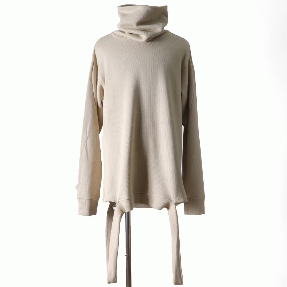 Turtle Neck Knit Pullover IVORY