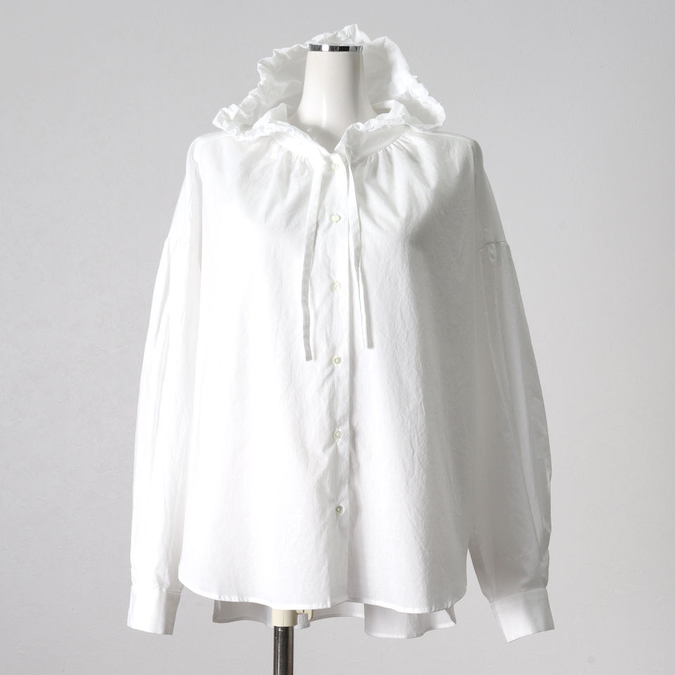 [SALE] 30%OFF mizuiro ind hooded shirts OFF WHITE